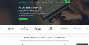 PagerDuty Website